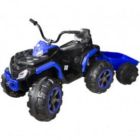 ATV cu acumulator + remorca, 2 motoare, 12V, 7A