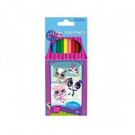 Creioane colors-lps, 12 cul/set - STARPAK