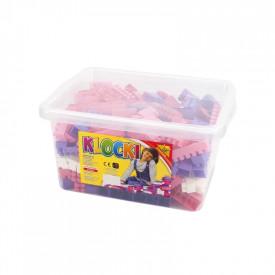 Cuburi constructii 300 piese/cutie, 28 mm, pentru fetite - Tupiko