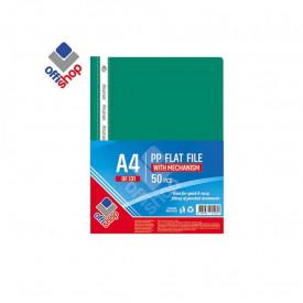 Dosar plastic A4, 120/180 mic, Verde inchis - OFFISHOP