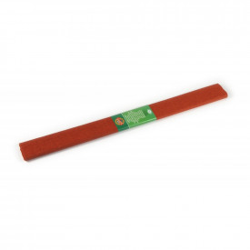 Hartie creponata, 200x50cm, Caramizu, 10 buc/set - Koh-I-Noor