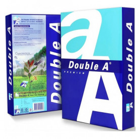 Hartie DOUBLE A, A4, 80 g/mp, 500 coli/top
