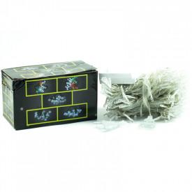 Instalatie de Craciun 3 m x 3 m,tip perdea culoare alba rece/multicolora/albastra/roz, 300 leduri Dualex