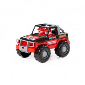 Jeep cu 2 pasageri - Mammoet, 23x14x13 cm, Polesie