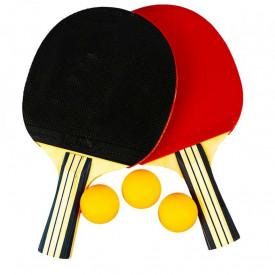 Palete ping-pong + 3 mingi, 1 set/husa
