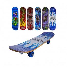 Placa skateboard din lemn, 80 cm