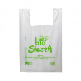 Pungi biodegradabile L, 50x32 cm, 50 buc/set