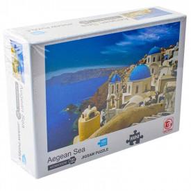 Puzzle carton mini, Marea Egee, 1000 piese