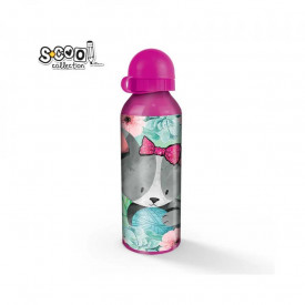 Sticla apa, aluminiu, CAT, 20x6 cm - S-COOL