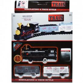 Trenulet cu baterii, 15 piese/cutie