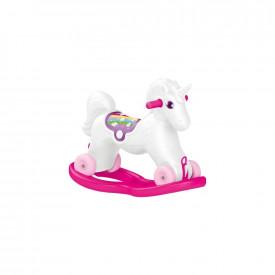 Unicorn balansoar cu rotile, 50X34X70 cm - Dolu