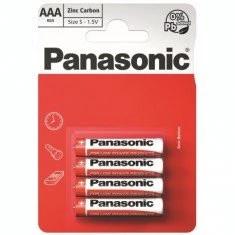 BATERII PANASONIC R3 AAA RED ZINC