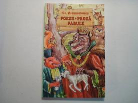 CARTE GRIGORE ALEXANDRESCU-POEZII-PROZA-FABULE