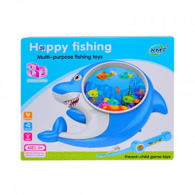 Joc de pescuit, cu lumina/muzica, delfin