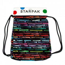 Sac sport Art Stripes, 46x35,5cm - STARPAK