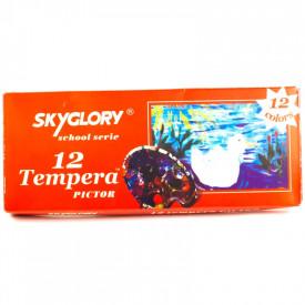 Tempera 12 culori SkyGlory