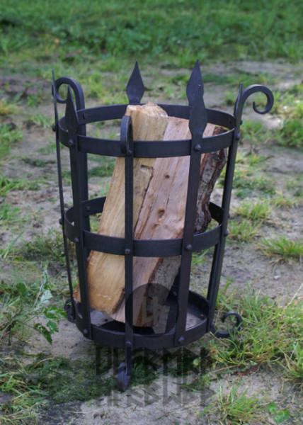 Braseiro em aço forjado à mão
