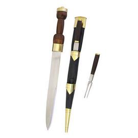 Imagens Adaga Escocesa com garfo e faca [MB0216325122]