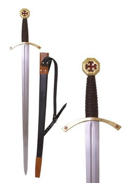 Templar sword with scabbard [MIB0116328800] images