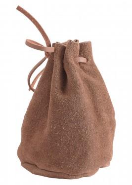 Bolsa em camurça