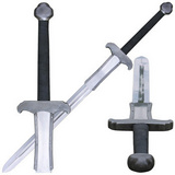 Espada Bárbara de mão e meia