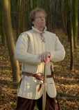 Long Gambeson with removable sleeves