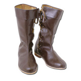 Side laced high boots [CB3123010500]