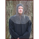 Chain mail coif, riveted