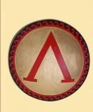 Escudo de hoplita grego de Esparta