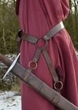 Cinto em couro para espada