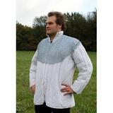 Protecção de ombros em cota de malha, zincada