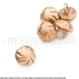 Brass button - pack 10