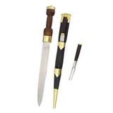 Adaga Escocesa com garfo e faca [MB0216325122]