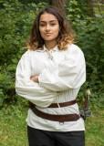 Cinto duplo em couro para espada