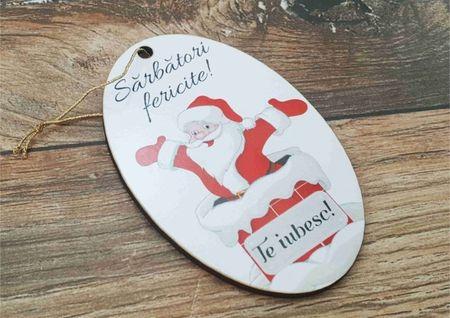 Ornament pom -TE IUBESC-