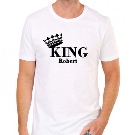 Tricou personalizat -King-