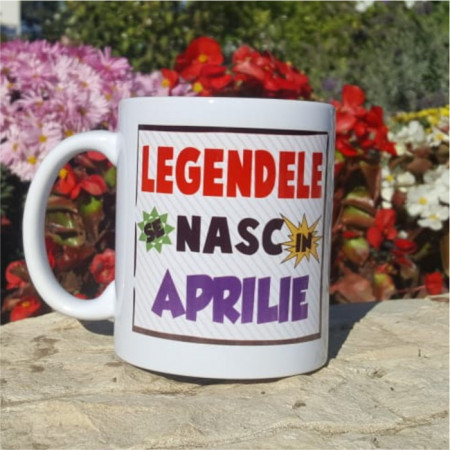 "Cana ""Legendele se nasc in aprilie"""