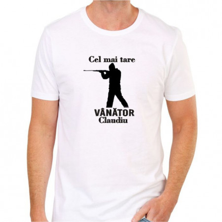 Tricou personalizat -Vânător-