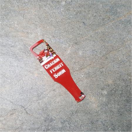 Desfacator de bere personalizat -Crăciun-
