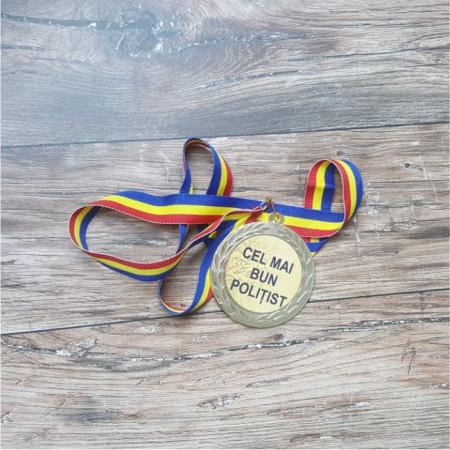"Medalie "" Cel mai bun polițist"""