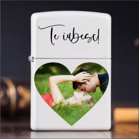 Brichetă personalizată -Inimă-