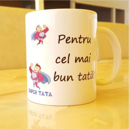 Cana cu doua mesaje-Super Tata
