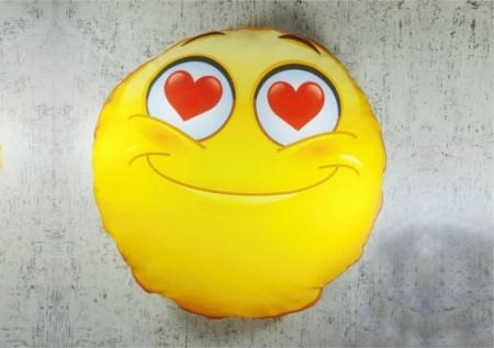 Perna Emoji love personalizata cu o poza si text