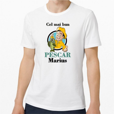 Tricou personalizat -Pescar M2-