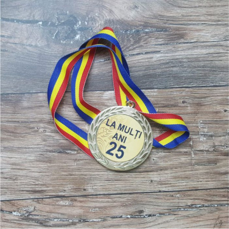 "Medalie ""La multi ani"""