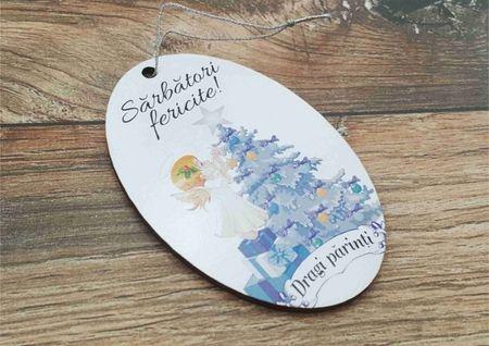 Ornament pom - DRAGI PARINTI-