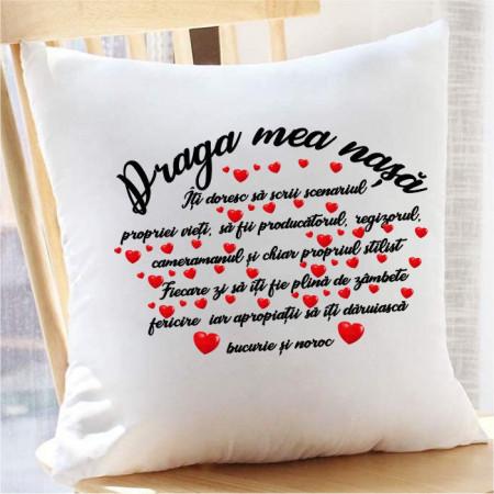Perna personalizata -Draga mea nașă-