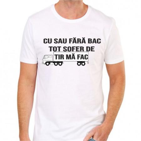 Tricou personalizat -Șofer de tir-