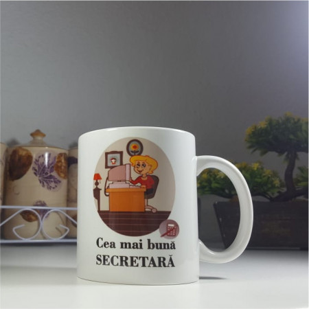 "Cana ""Cea mai buna Secretara"""