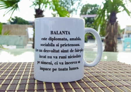 Cana cu zodie-Balanta